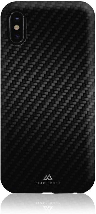 Black Rock Zwart Flex Carbon Case iPhone X
