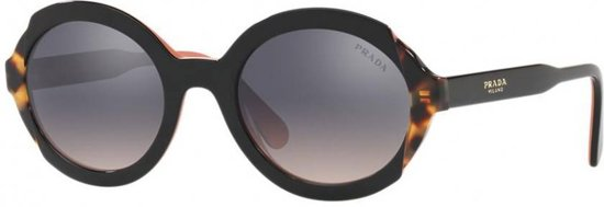 4e88becb715 bol.com   Prada zonnebril Top Black Pink/medium Havana PR 17US 5ZWGR0