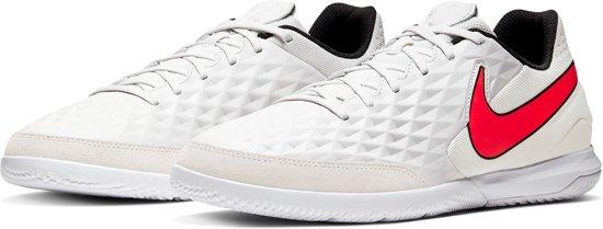 Nike Tiempo Legend 8 Academy IC Sportschoenen Maat 45.5 Mannen grijswitrood