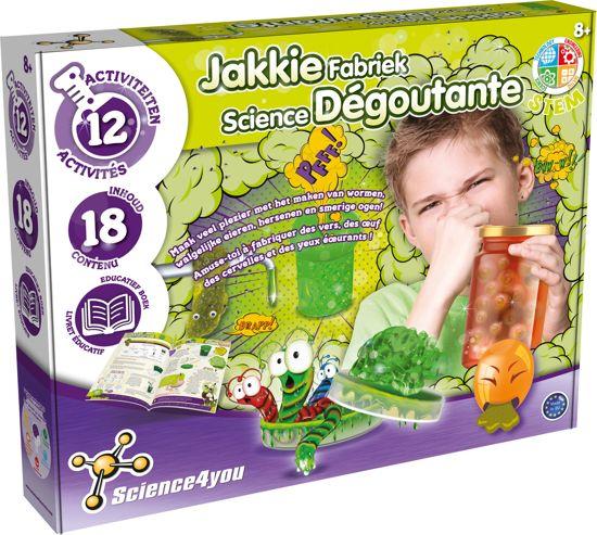 Afbeelding van Science 4 You - Jakkie Fabriek - Experimenteerset speelgoed