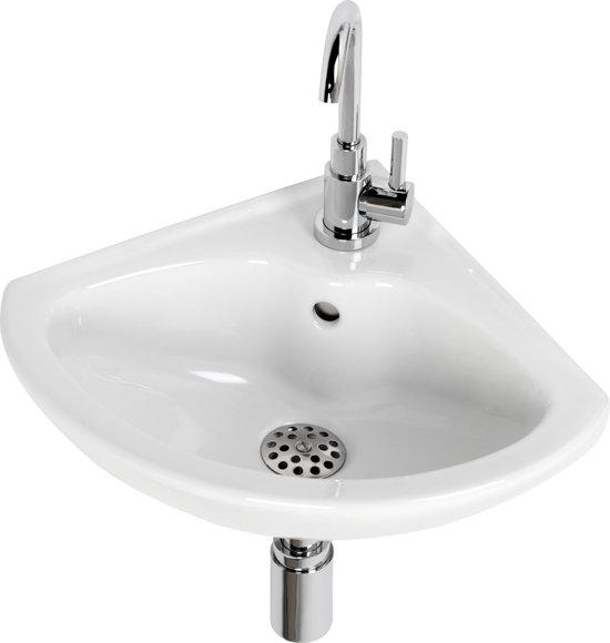 duravit wing fontein toilet set hoekfontein 44 x 38 cm inclusief fonteinkraan en si. Black Bedroom Furniture Sets. Home Design Ideas