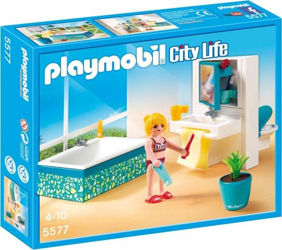 bol.com | Playmobil Badkamer met bad - 5577, PLAYMOBIL | Speelgoed