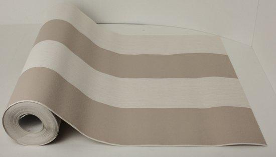Dutch Wallcoverings Vliesbehang design streep - creme/beige