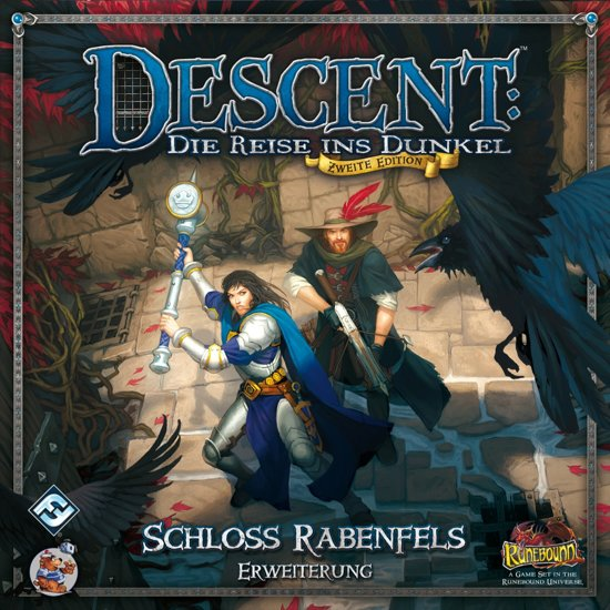 Descent Journeys in the Dark Manor of Ravens - Uitbreiding - Bordspel