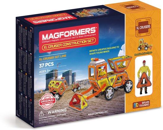 Magformers XL Cruisers Construction Set - 37 Stuks