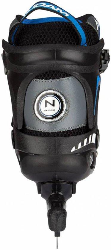 Nijdam Norenschaats Semi Softboot - Unisex - Zwart/Blauw - Maat 36