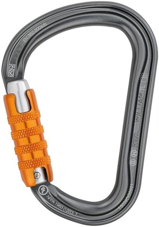 Petzl William Triact Lock met automatische sluiting