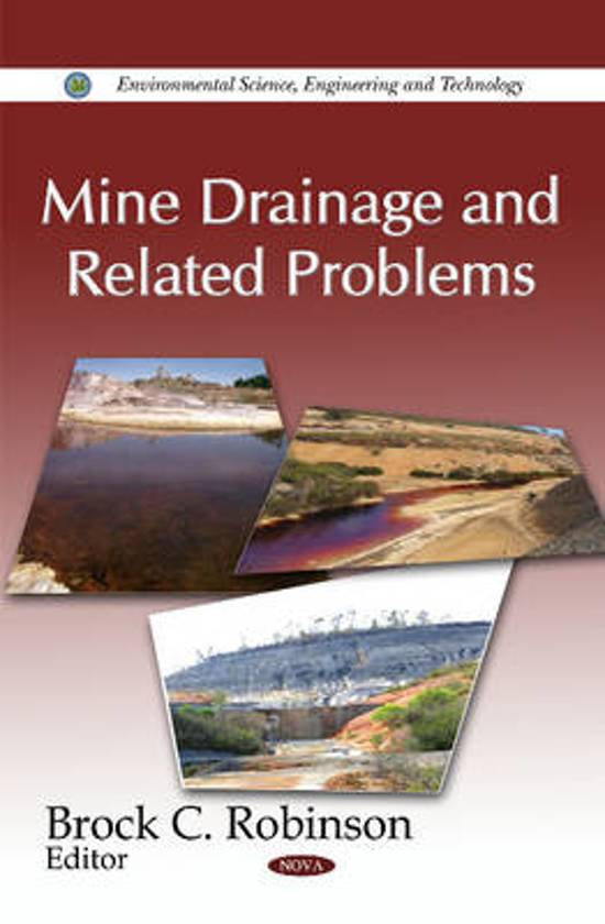 Mine Drainage & Related Problems