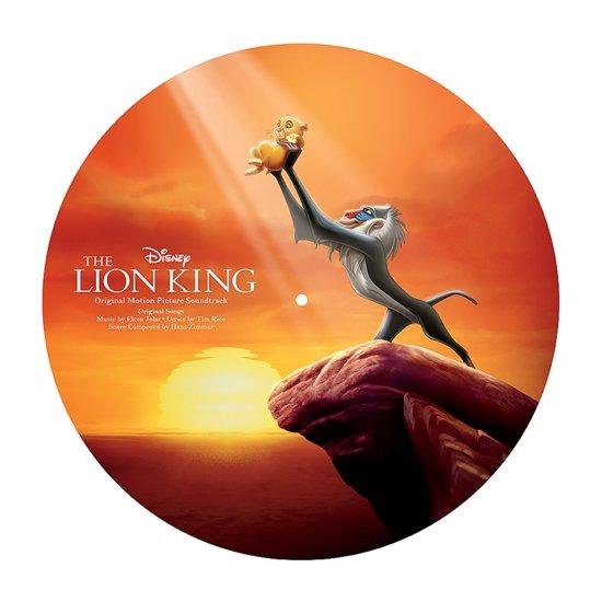 CD cover van The Lion King (Picture Disc) (LP) van Ost