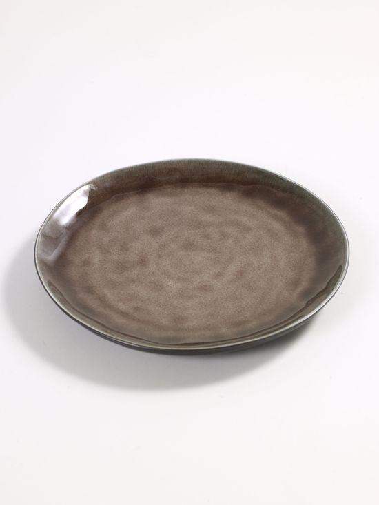 Serax Pascale Naessens Dinerbord - Ø20,5 cm - 4 Stuks - Bruin