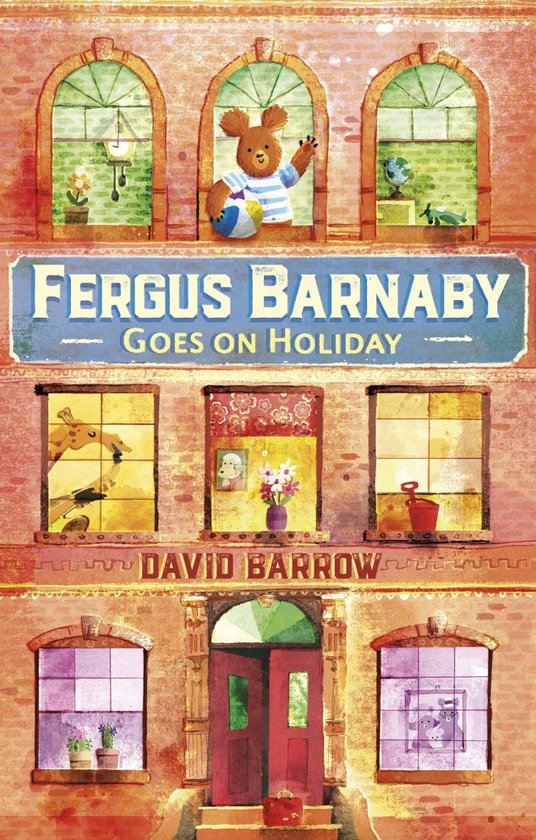 Boek cover Fergus Barnaby Goes on Holiday van David Barrow (Onbekend)