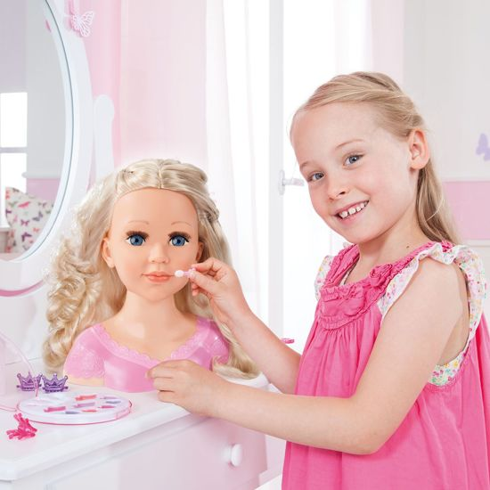 Bayer Charlene Super Model Kaphoofd - inclusief make-up