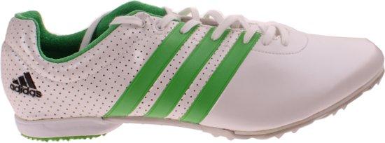 new arrival 93a43 c1c38 Adidas Spikes Adizero Md Heren Witgroen Maat 44