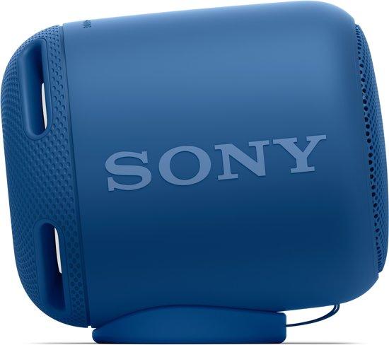 Sony SRS-XB10 draagbare bluetooth speaker blauw
