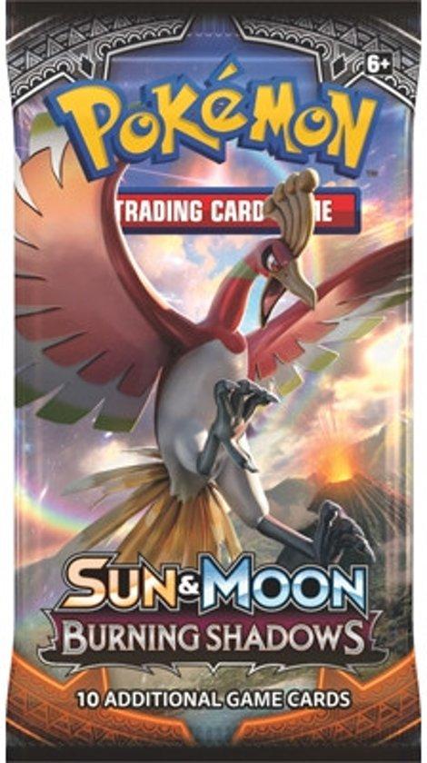 Afbeelding van het spel 1 Pakje Pokemon Kaarten Sun & Moon Burning Shadows