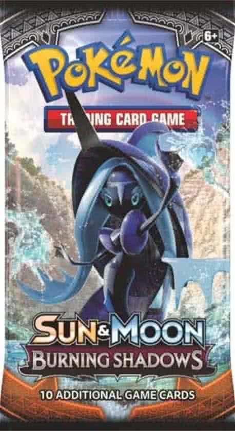 Thumbnail van een extra afbeelding van het spel 1 Pakje Pokemon Kaarten Sun & Moon Burning Shadows