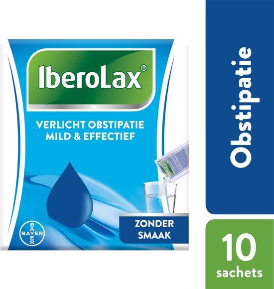 Iberolax verlicht obstipatie effectief: 10 zakjes
