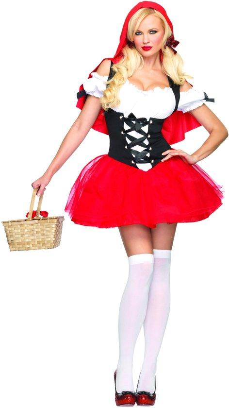 Carnavalskleding Xl Dames.Bol Com Sexy Roodkapje Kostuum Carnavalskleding Dames Maat Xl