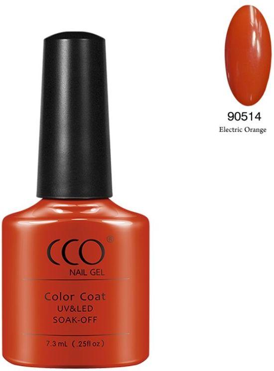 CCO Shellac - Electric Orange - Gel nagellak