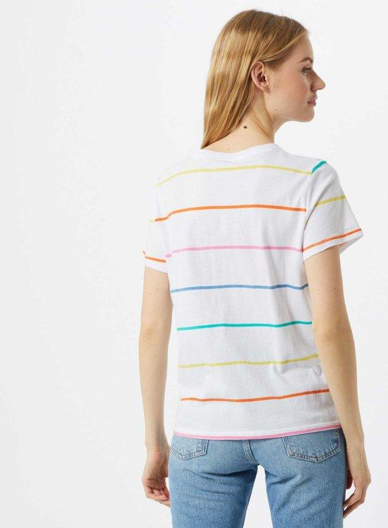 Wrangler shirt regular tee Wit-m