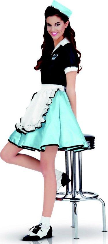 """""""Retro serveerster kostuum voor dames jaren 50 - Verkleedkleding - One size"""""""