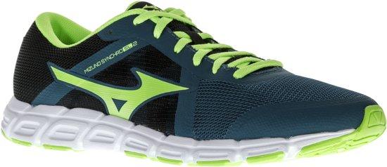 Mizuno Synchro SL 2 Hardloopschoenen - Maat 46 - Mannen - donker groen/licht groen