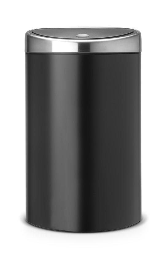 Brabantia Prullenbak 40 Liter.Brabantia Touch Bin Prullenbak 40 L Zwart