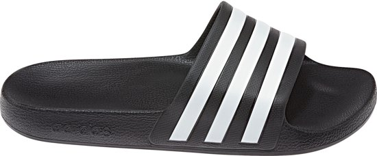 wit Aquaslippers Unisex 38 Adilette Maat Adidas Zwart v45qUYSw