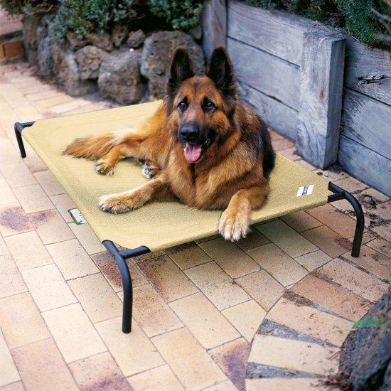 4animalz Honden Ligbed - Ventilerend - Zandkleurig - Large - 110x80cm