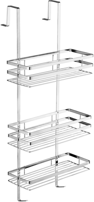 Ikea Duschkorb : bol.com RVS doucherek met 3 mandjes, ophangen zonder schroeven