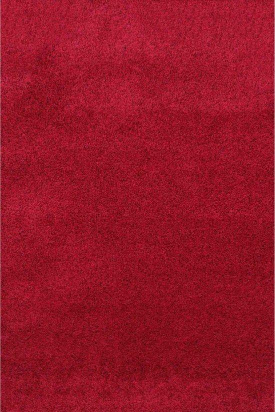 4ce47e88e9b433 Hoogpolig Vloerkleed Shaggy Plus 958 Red 120 x 170 cm