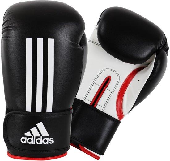 Adidas - Bokshandschoenen - Energy 100 - Zwart/Wit - 16 oz