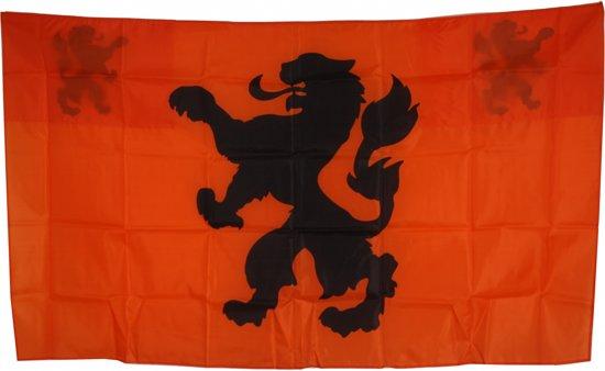 Nederlands Cape Vlag Oranje/zwart 90 X 150 Cm