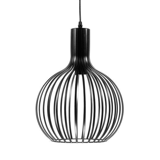 Beliani SEGURA - Hanglamp - Zwart - Metaal