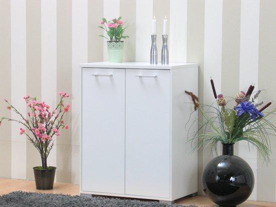 Tvilum tv meubel bergamo wit hoogglans met 2 for Goedkope meubels