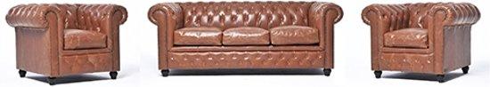 The Chesterfield Brand Vintage - 3+1+1 zits - Mokka