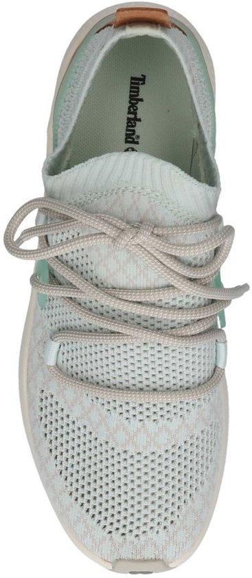 Lage Sneakers Timberland Go Flyroam Chukka Lichtblauwe Sportieve Knit zvFxwqv
