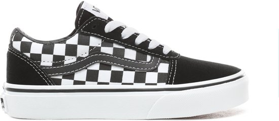 c36af9f258d Vans Ward Sneakers Kids Jongens - maat 33 - (Checkered) Black/True White