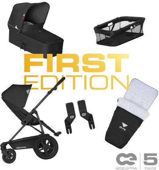 Koelstra Binque Daily - First Edition Kinderwagen -  Zwart