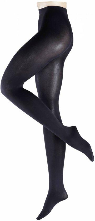 FALKE Sensual Cotton 80 denier Panty 40089 - Dames - XL - Marine
