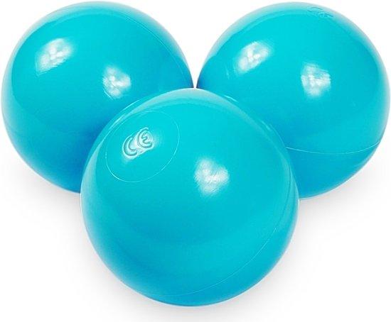 Ballenbak ballen turqoise (70mm) voor ballenbak 100 stuks