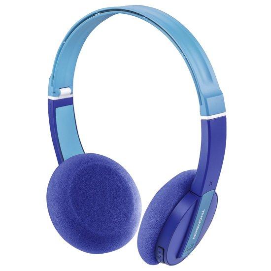 Thomson WHP-6017B - On-ear koptelefoon - Geschikt voor kinderen - Blauw