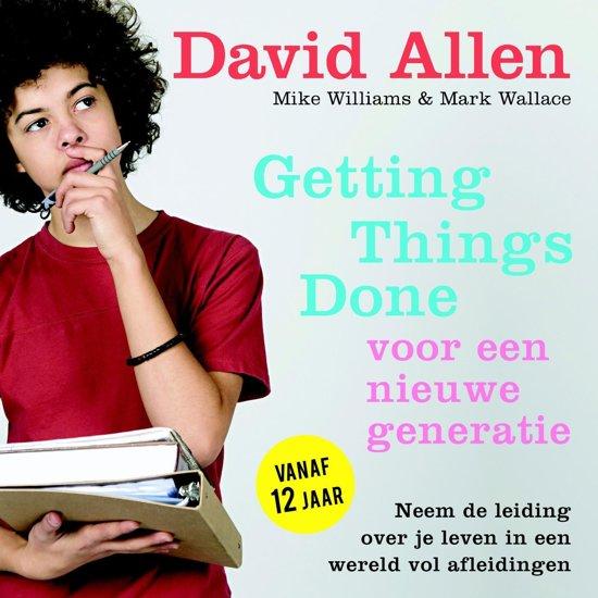 Boek cover Getting Things Done voor een nieuwe generatie van David Allen (Onbekend)