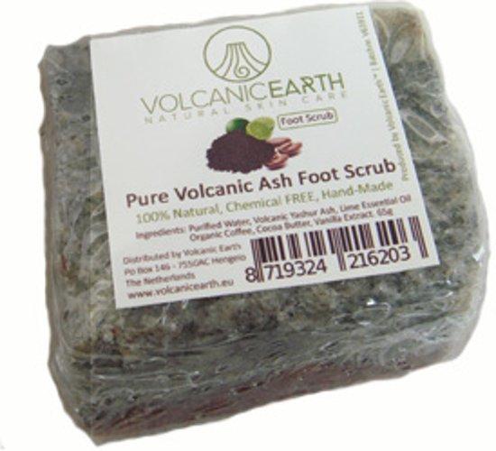 Volcanic Earth Handgemaakte Voetscrub met Vulkanische As