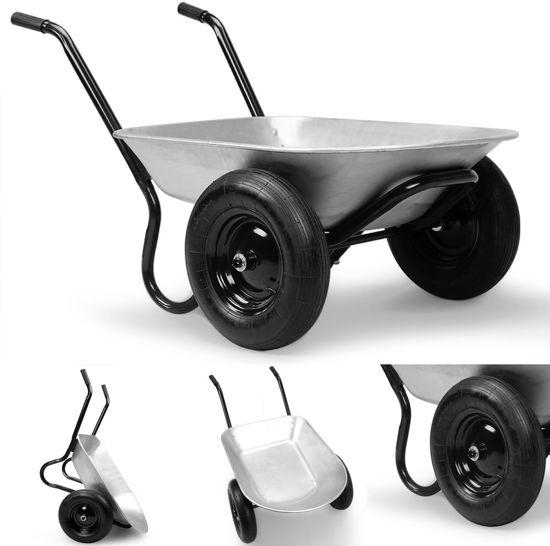 Kruiwagen met 2 wielen, tuinkar
