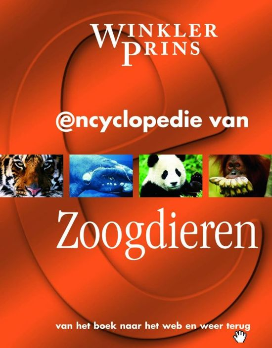 Boek cover Winkler Prins encyclopedie van Zoogdieren van J. Green (Hardcover)