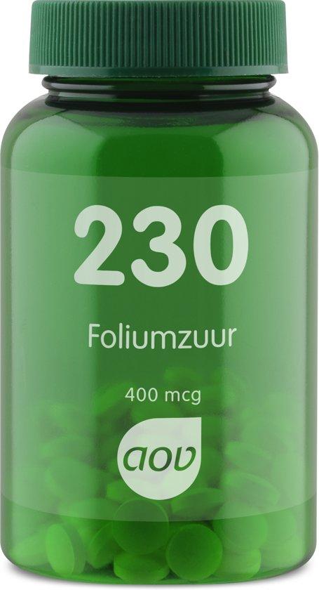 Bolcom Aov 230 Foliumzuur 400 Mcg 100 Tabletten