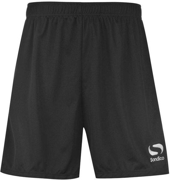 Sondico voetbalshort - Heren - Black - S