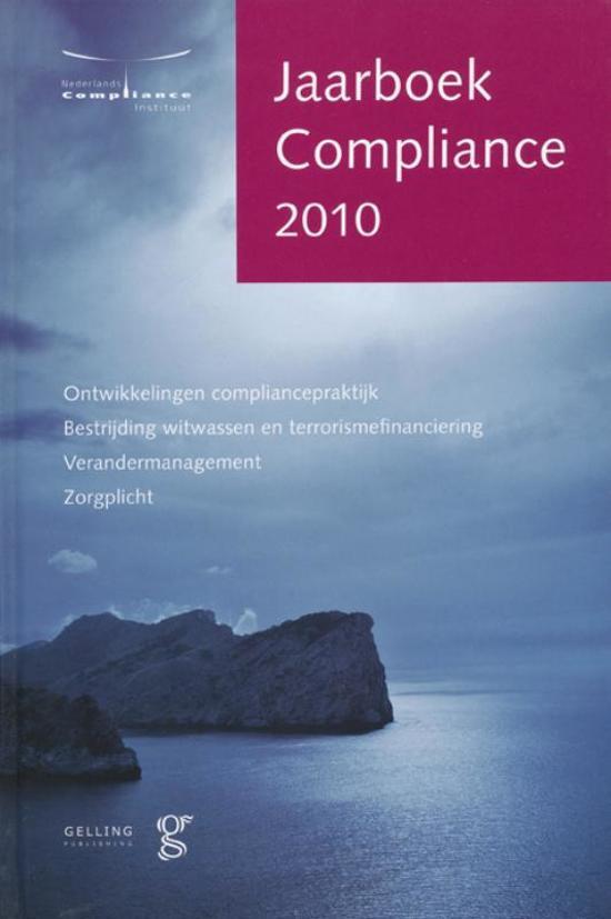 Jaarboek Compliance 2010