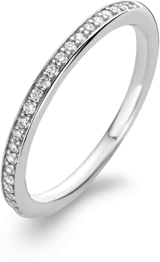 TI SENTO Milano Ring 1923ZI - Maat 52 (16,5 mm) - Gerhodineerd Sterling Zilver